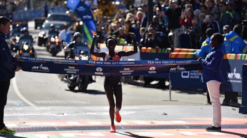 NYC Marathon winners 2016