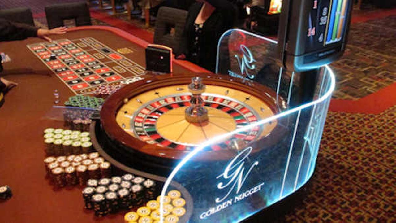 This June 24, 2016 photo shows a roulette table at the Golden Nugget casino in Atlantic City N.J. (AP Photo/Wayne Parry)