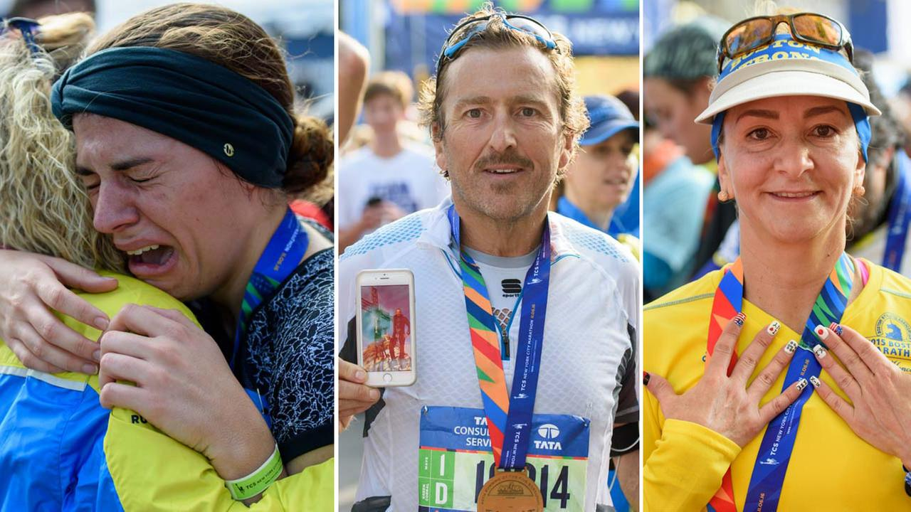 25 inspiring TCS New York City Marathon runner stories