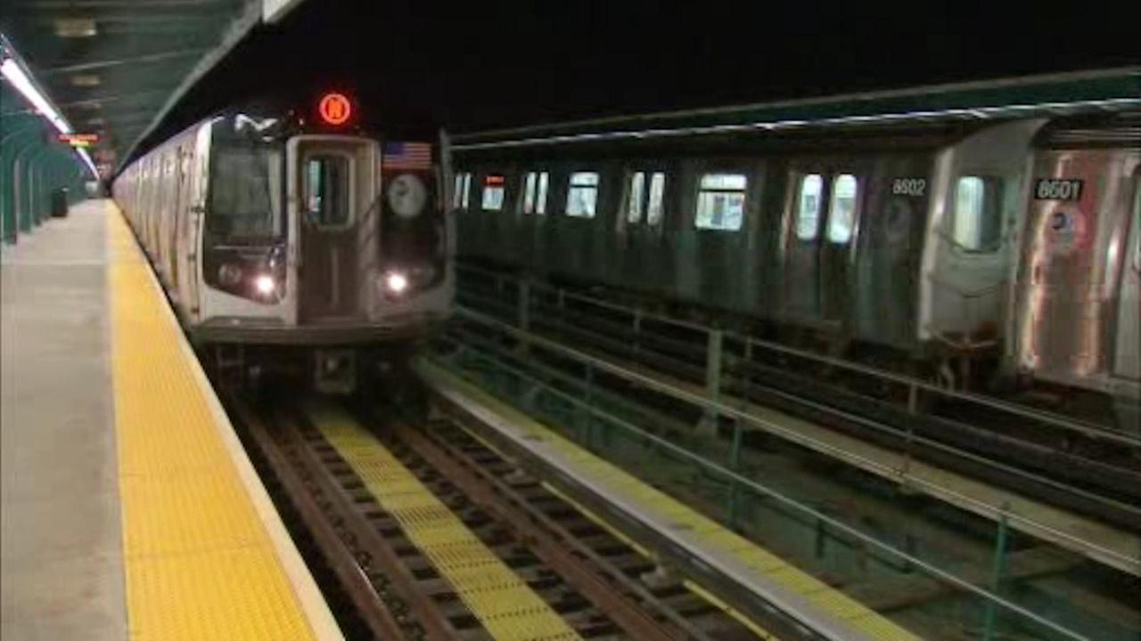MTA above-ground subway lines running at slower speeds due to slippery leaves
