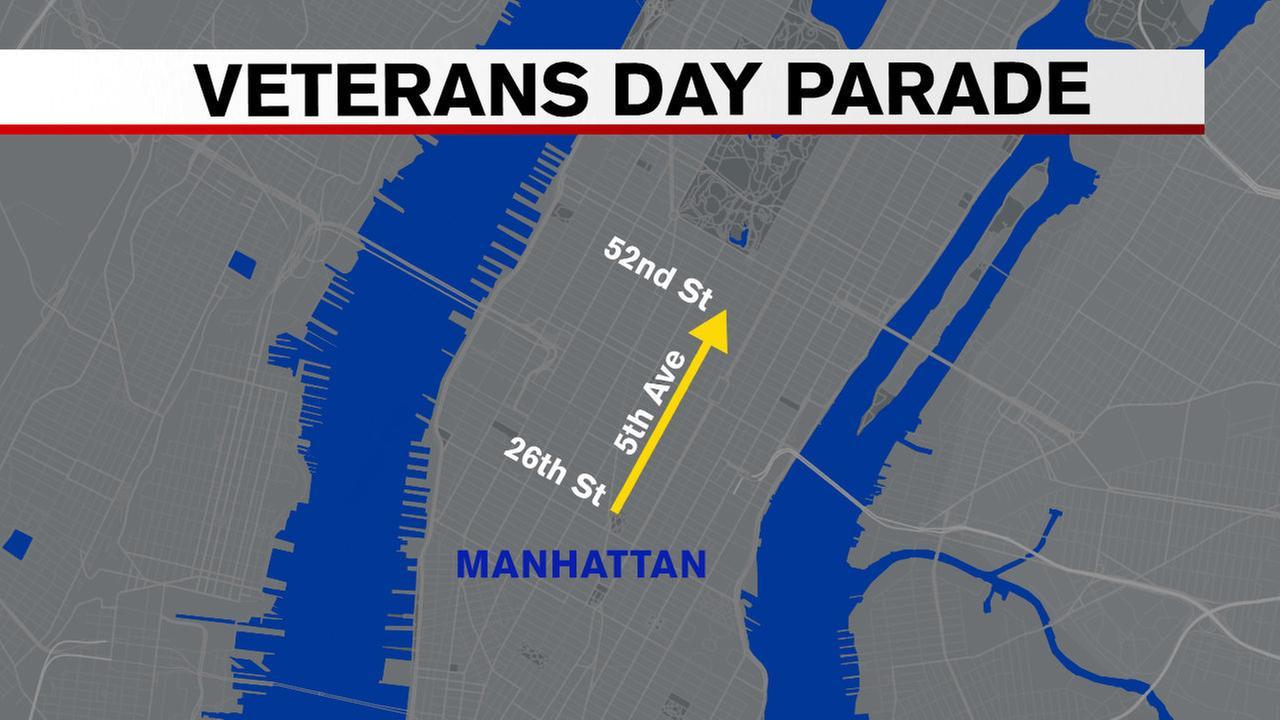 Veterans Day Parade 2016 NYC