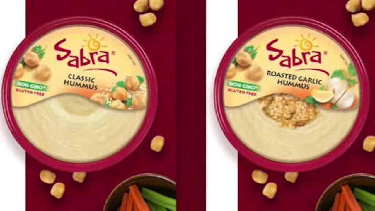 Some hummus products recalled by Sabra due to possible listeria contamination