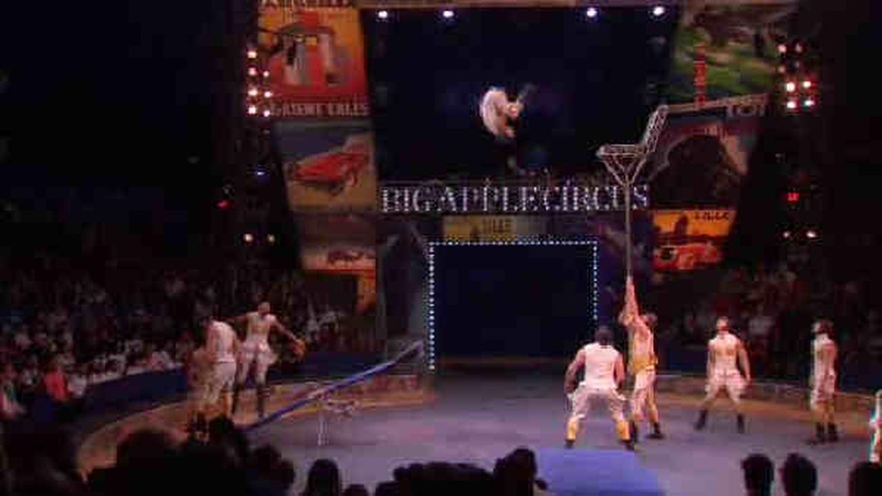Big Apple Circus performing at Lincoln Center
