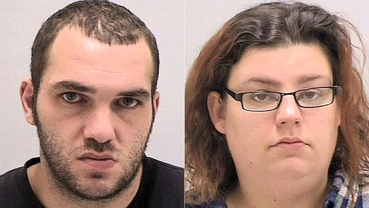 Couple had sex in car while 6-year-old boy in back seat, police say