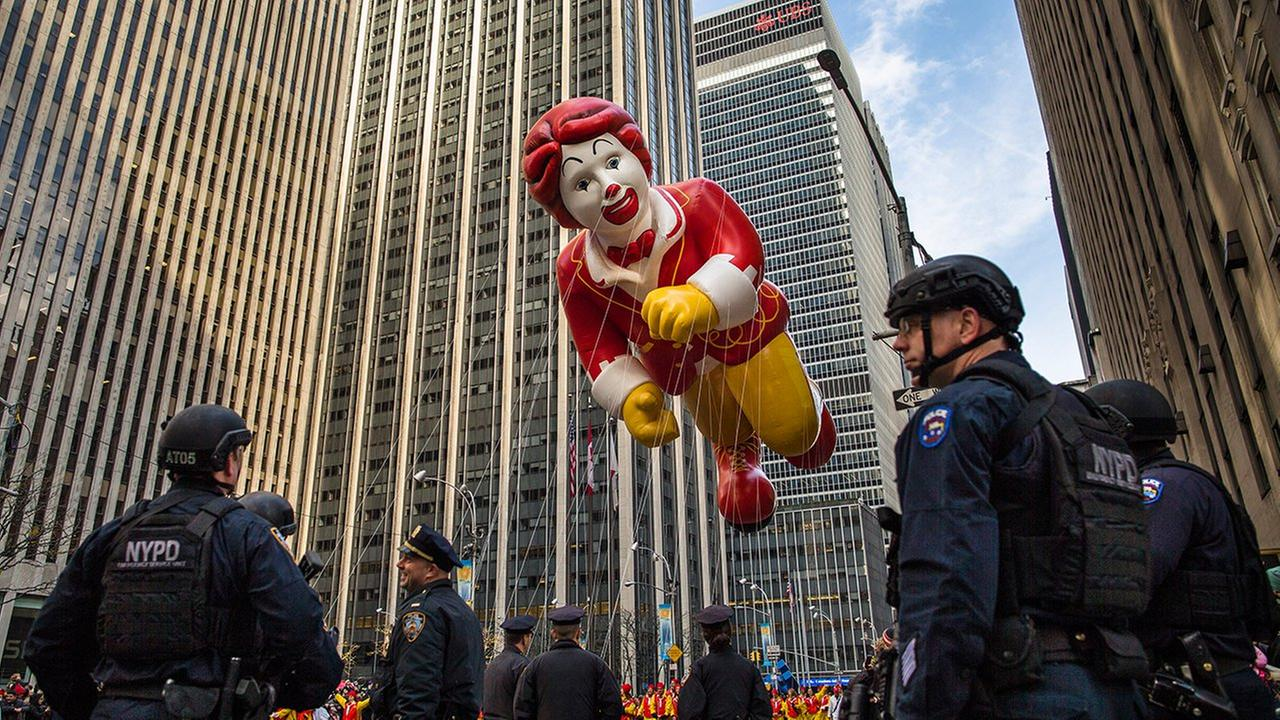 new york city thanksgiving day parade security