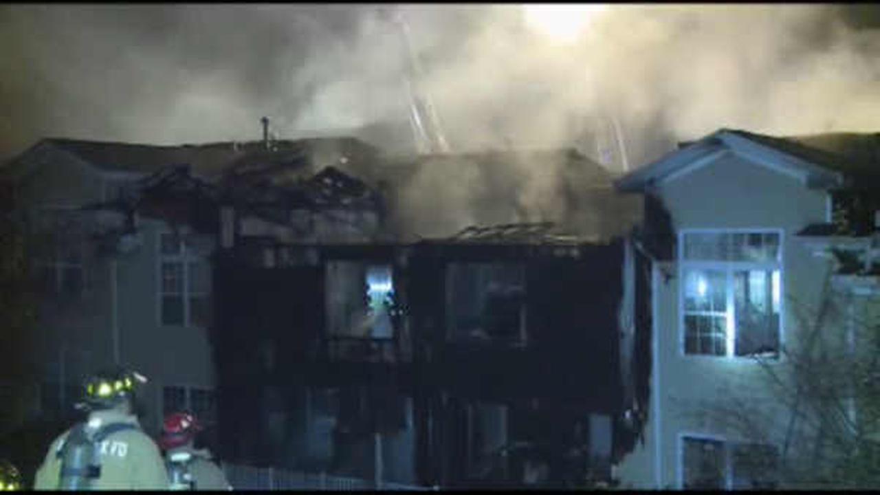 Over a dozen left homeless after New Jersey condo complex fire