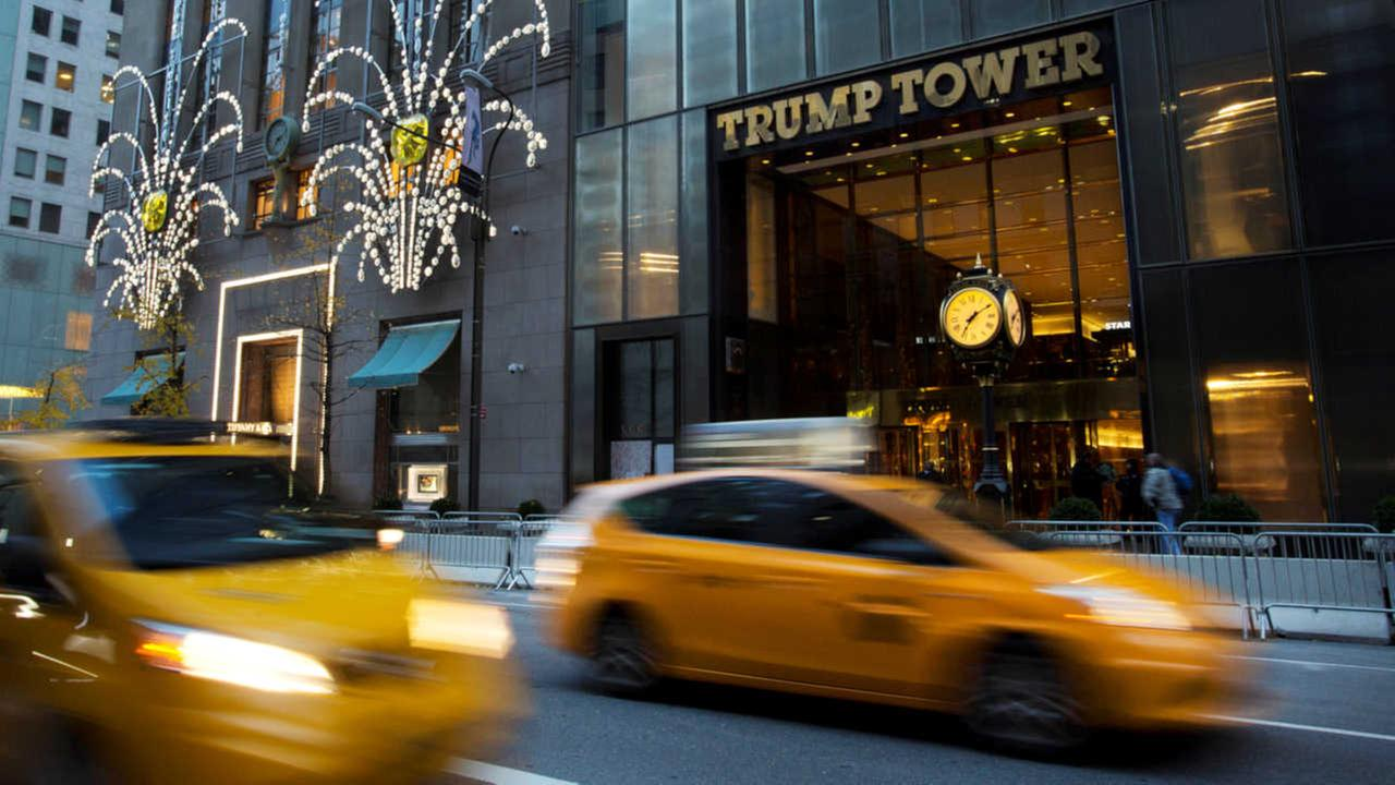 Man appears at Trump Tower, says Trump called him