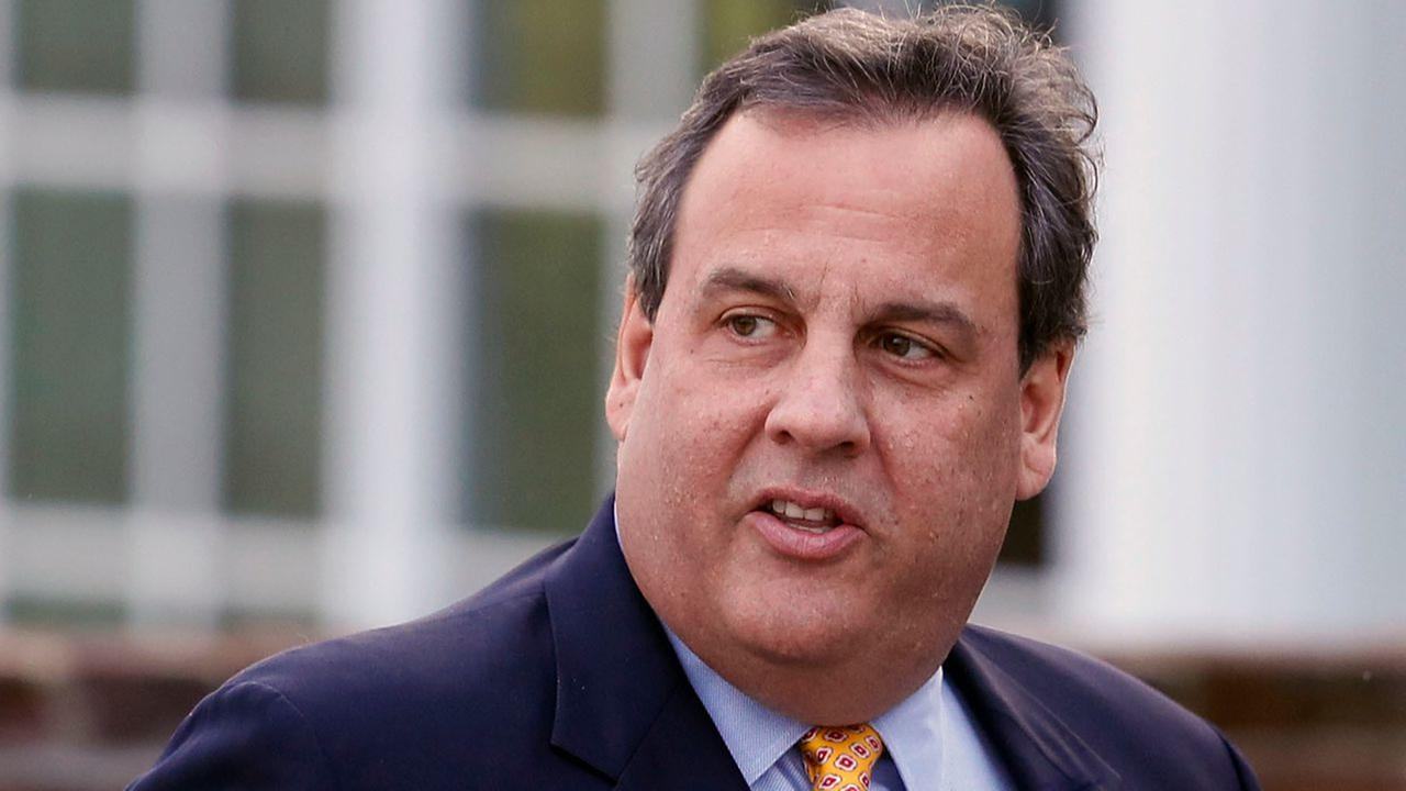 New Jersey Gov. Chris Christie in a file photo