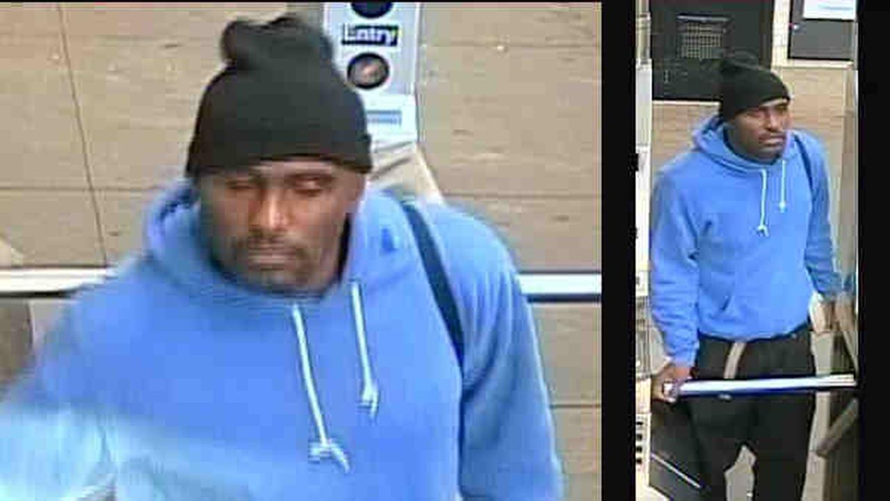 Police released photos of the suspect after a woman was punched while on the subway in Brooklyn.