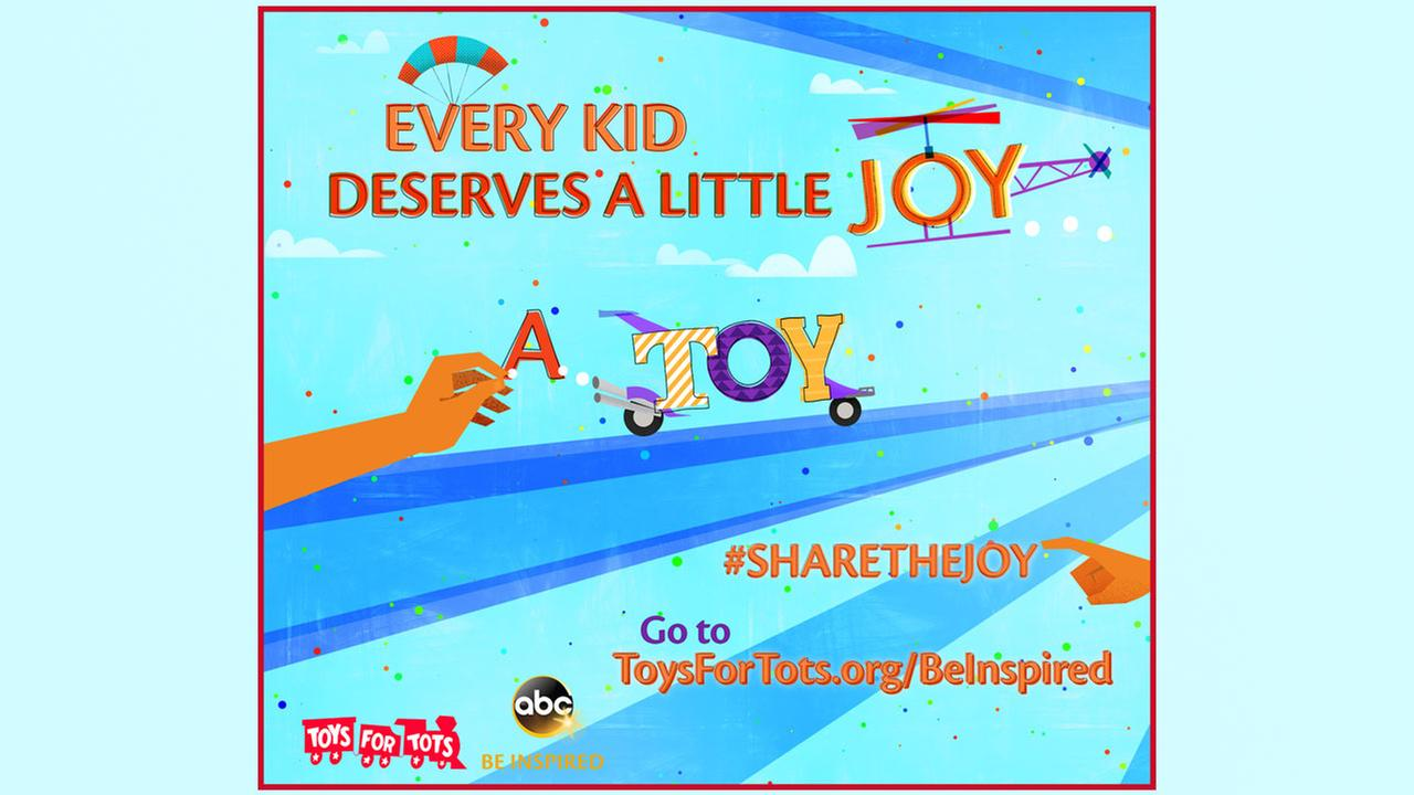 Join Disney and ABC support 'Toys for Tots' and 'Feeding America' food banks nationwide