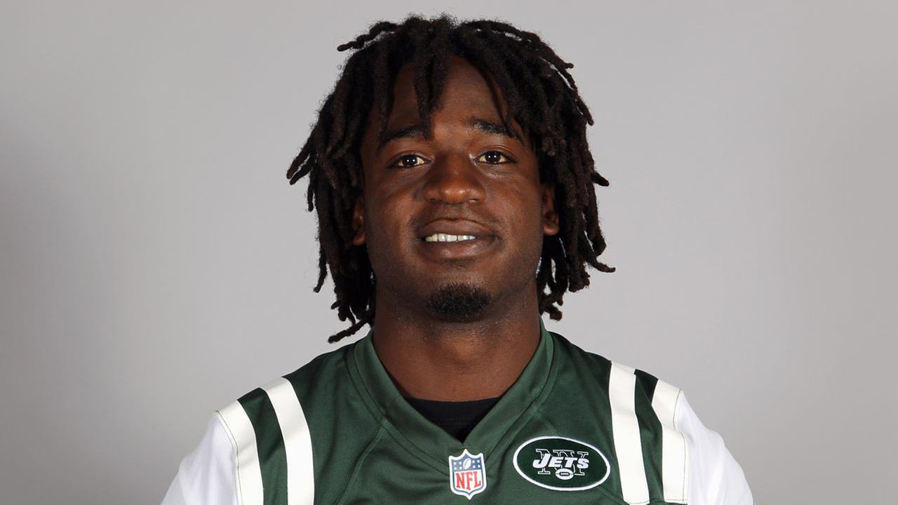This is a 2013 photo of Joe McKnight of the New York Jets NFL football team.