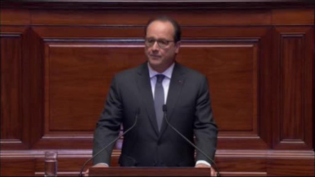 French President Hollande rules out 2017 re-election