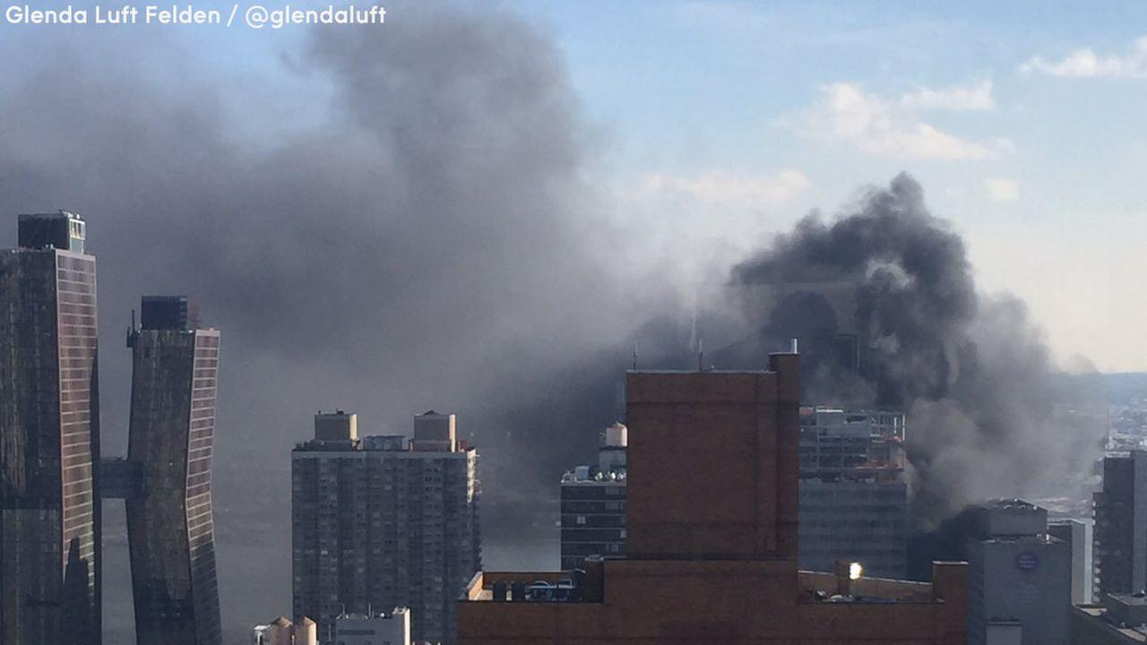 Fire breaks out at NYU Langone Medical Center building under construction