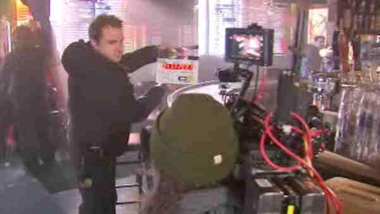 Film production spreads to the entire city