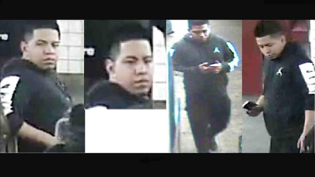 NYPD has released surveillance images of the man believed responsible for the stabbing of a tourist in Midtown Manhattan over the weekend.