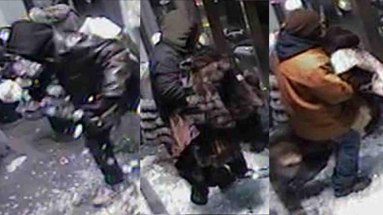 Police are looking for three people in Madison Avenue store burglary.