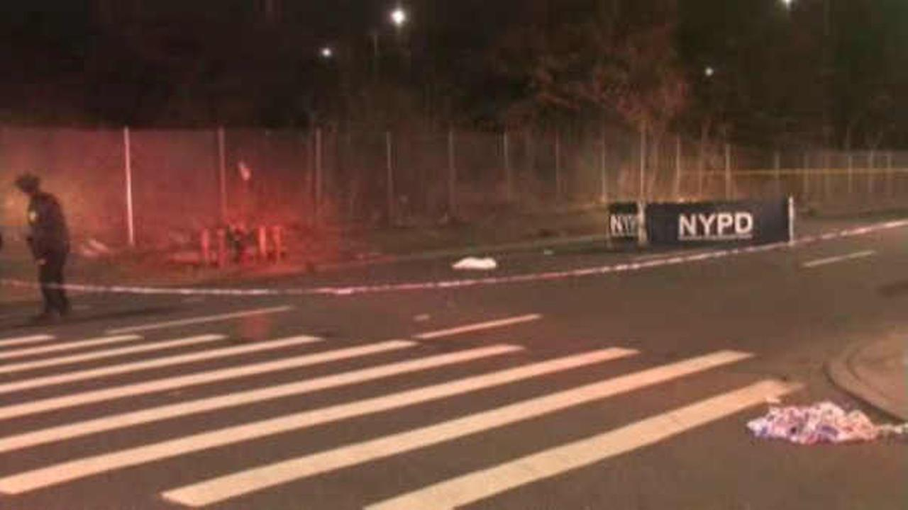 The NYPD was on the scene of a fatal hit and run in Queens.