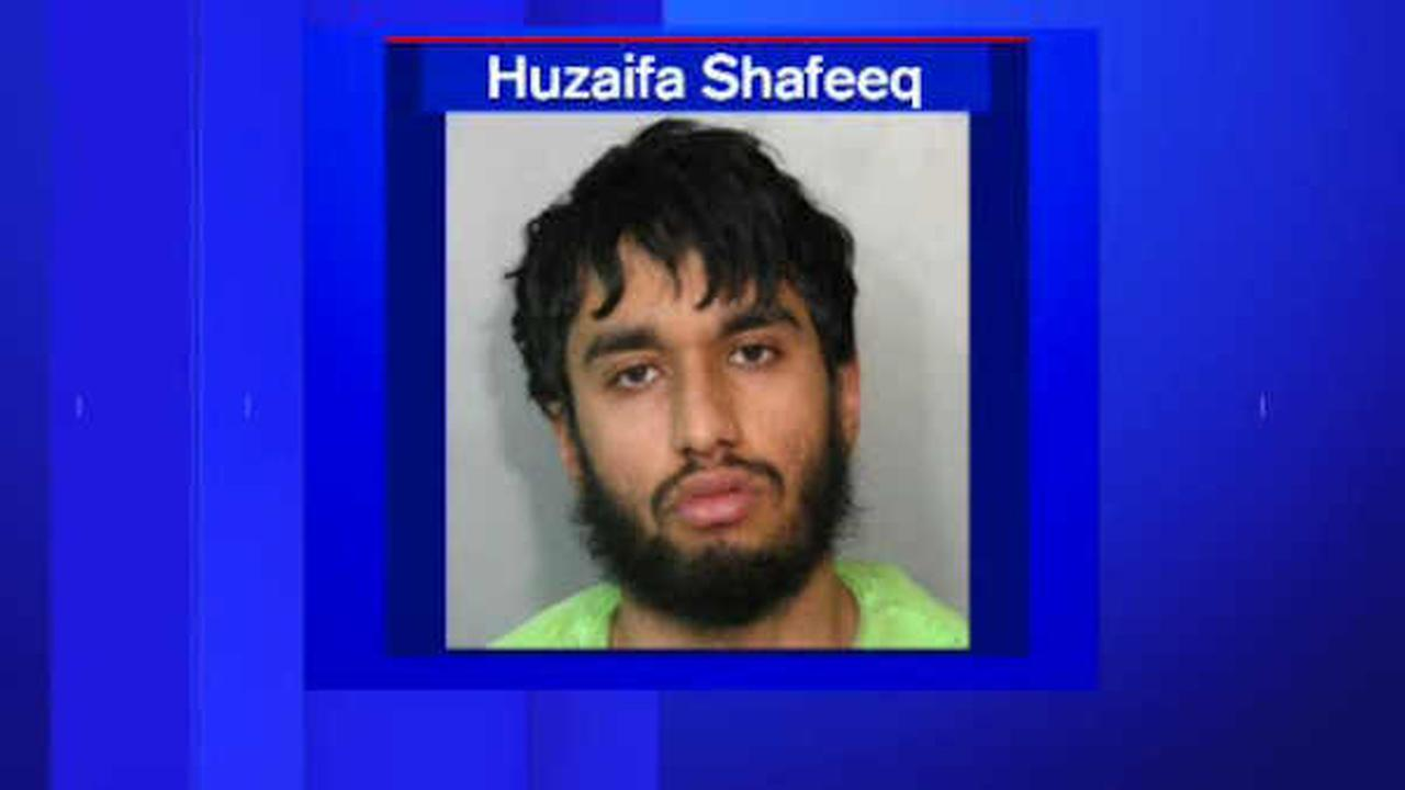 Huzaifa Shafeeq, 22, of Valley Stream