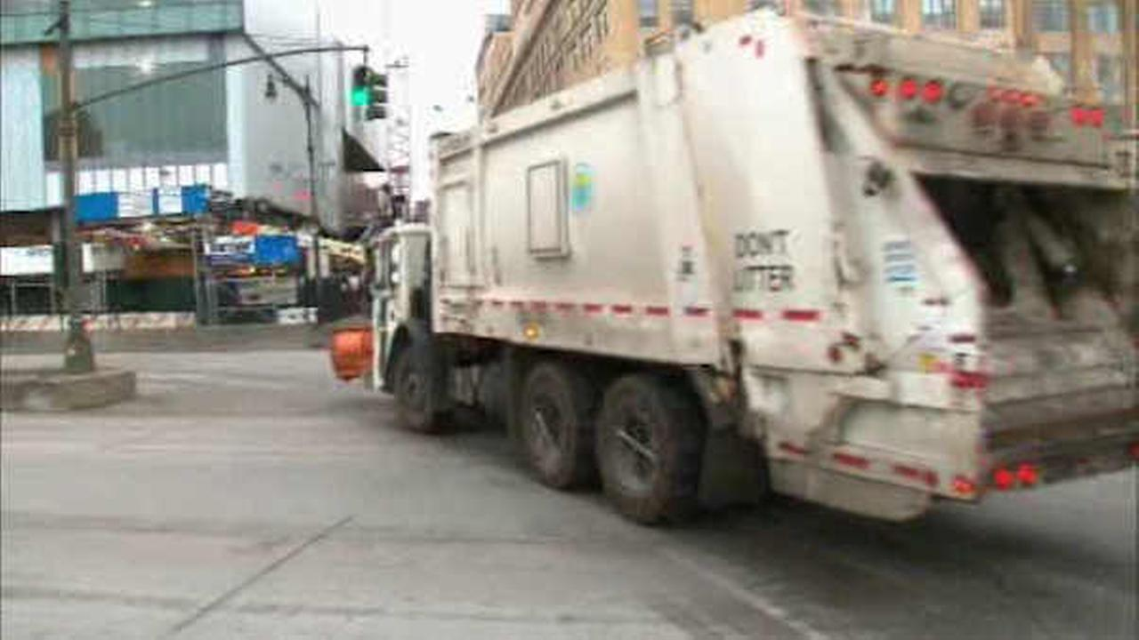 Proposed app would help drivers avoid getting stuck behind New York City garbage trucks