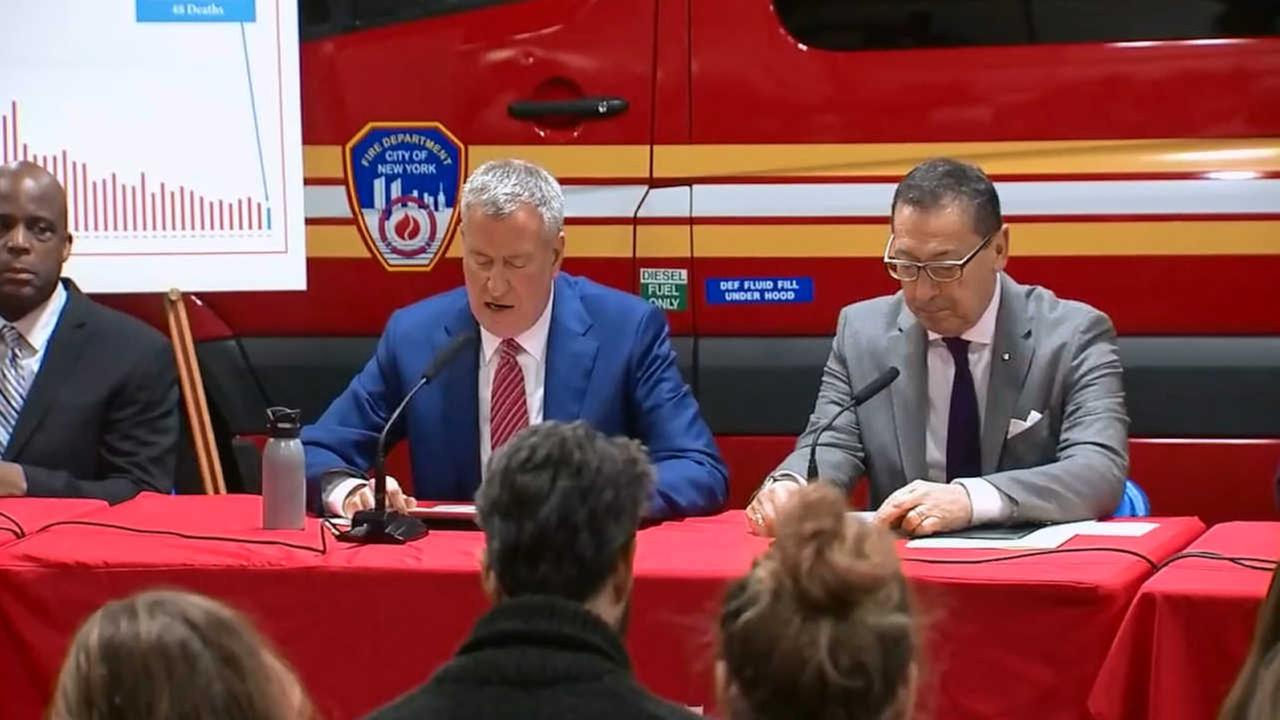 FDNY announces record-low number of fire-related deaths in 2016