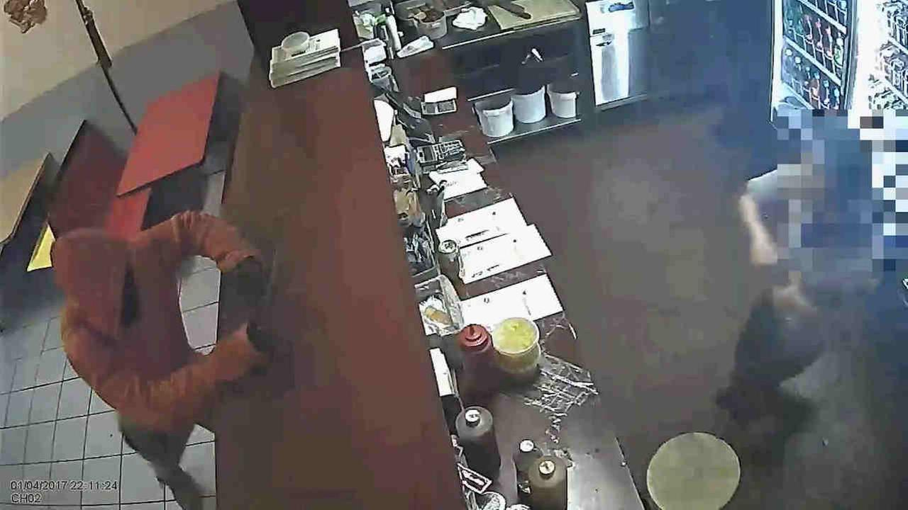 According to the New York City Police Department, a man using a knife has targeted fast-food restaurants in East New York for the last month.