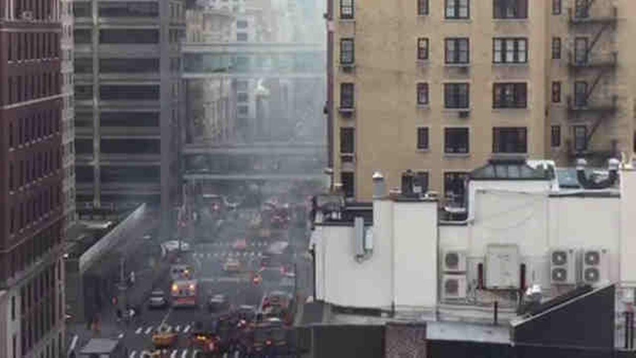 Garbage truck catches fire on Upper East Side