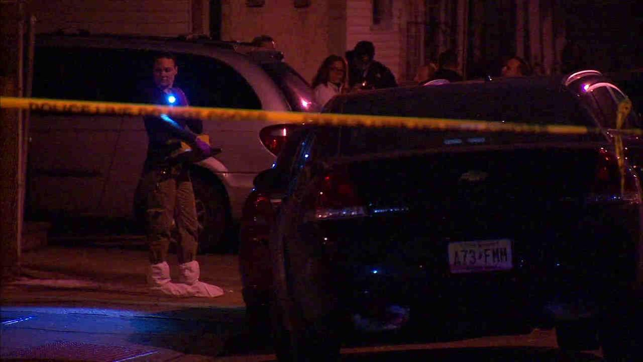 Multiple people were killed in in a house on Fulton Avenue in Jersey City just after 10 p.m.
