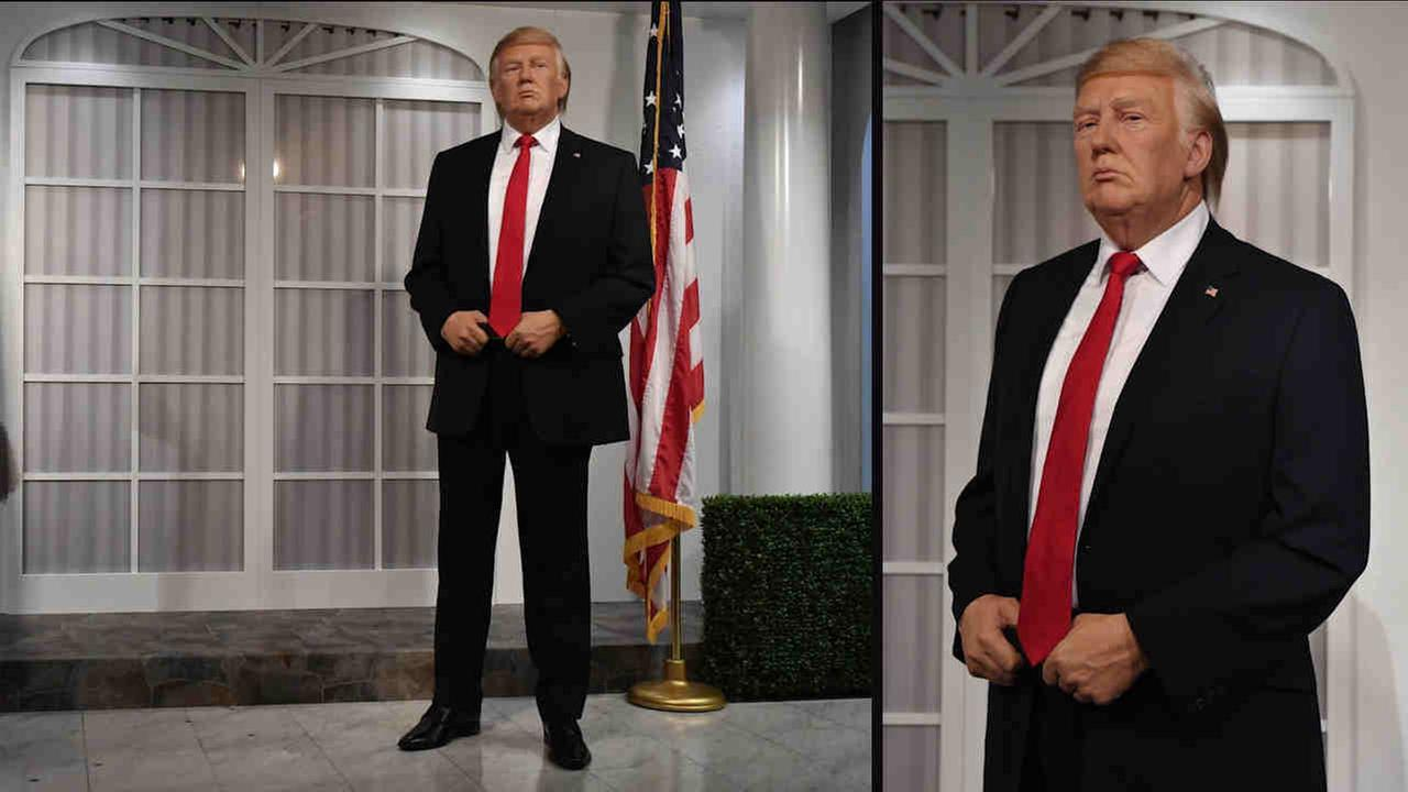 Madame Tussauds wax President-elect Donald Trump