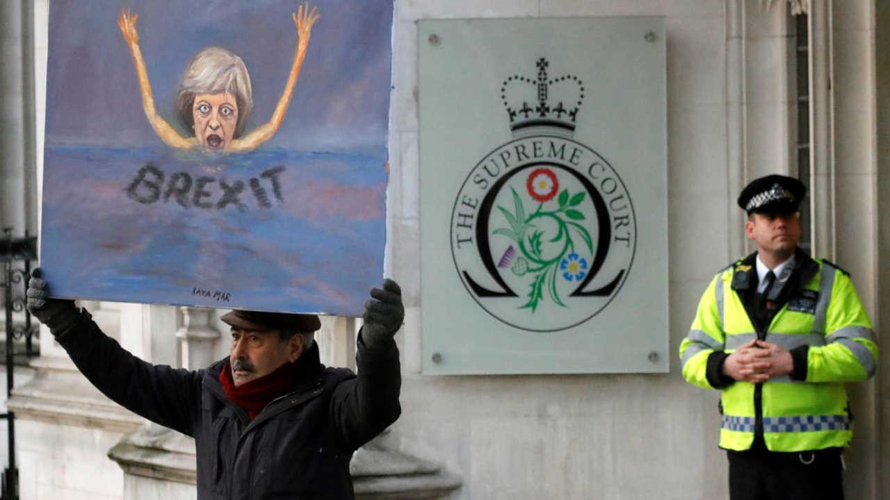 UK government loses Brexit case, must consult Parliament