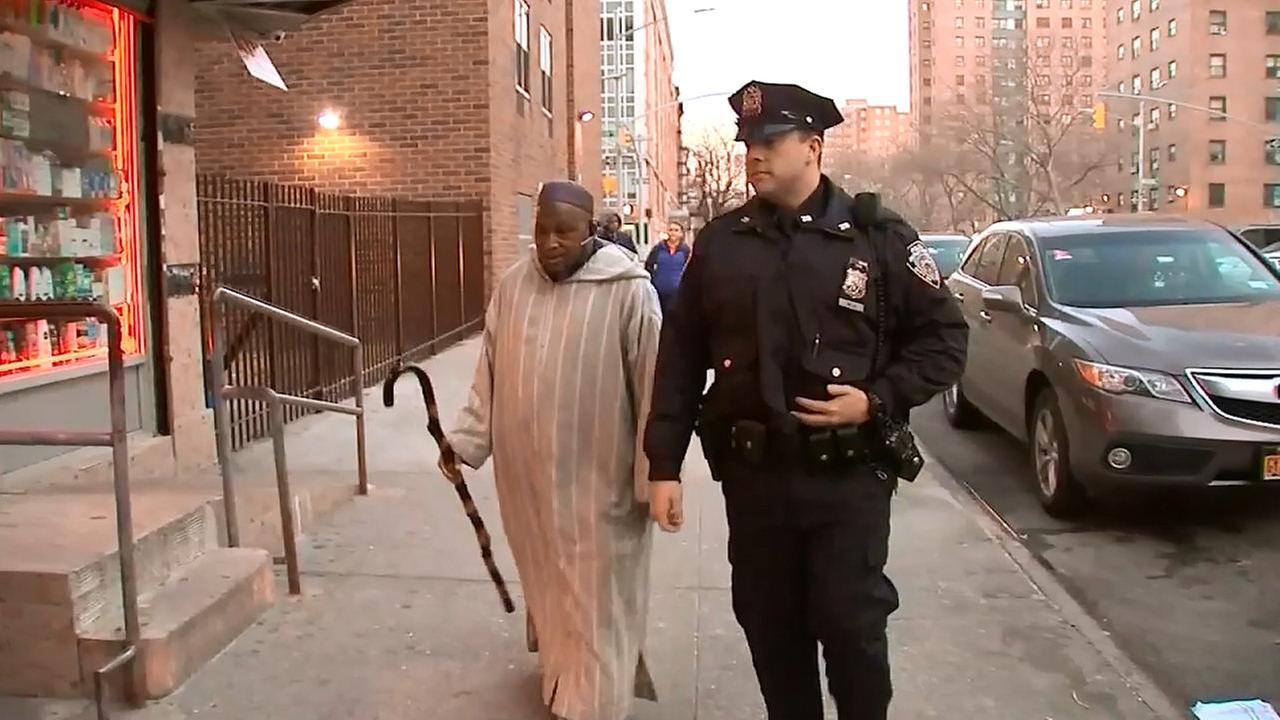NYPD part of community, protecting mosques their daily routine in Harlem