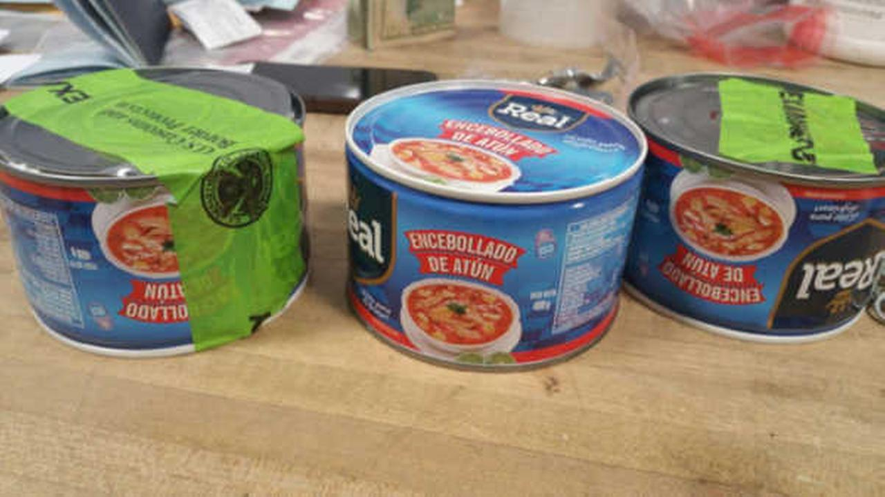 Police: Man smuggled cocaine in tuna, corn cans to JFK Airport