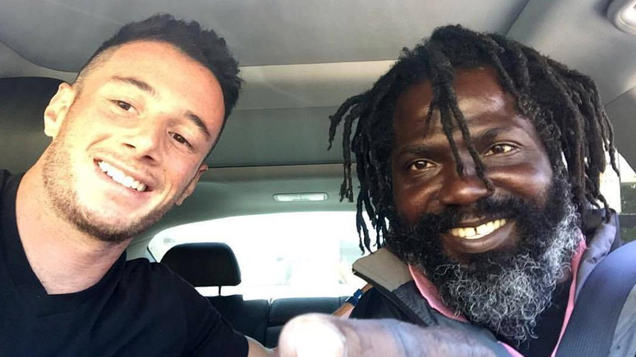 This man's story of helping homeless man living in tent is inspiring and heartbreaking