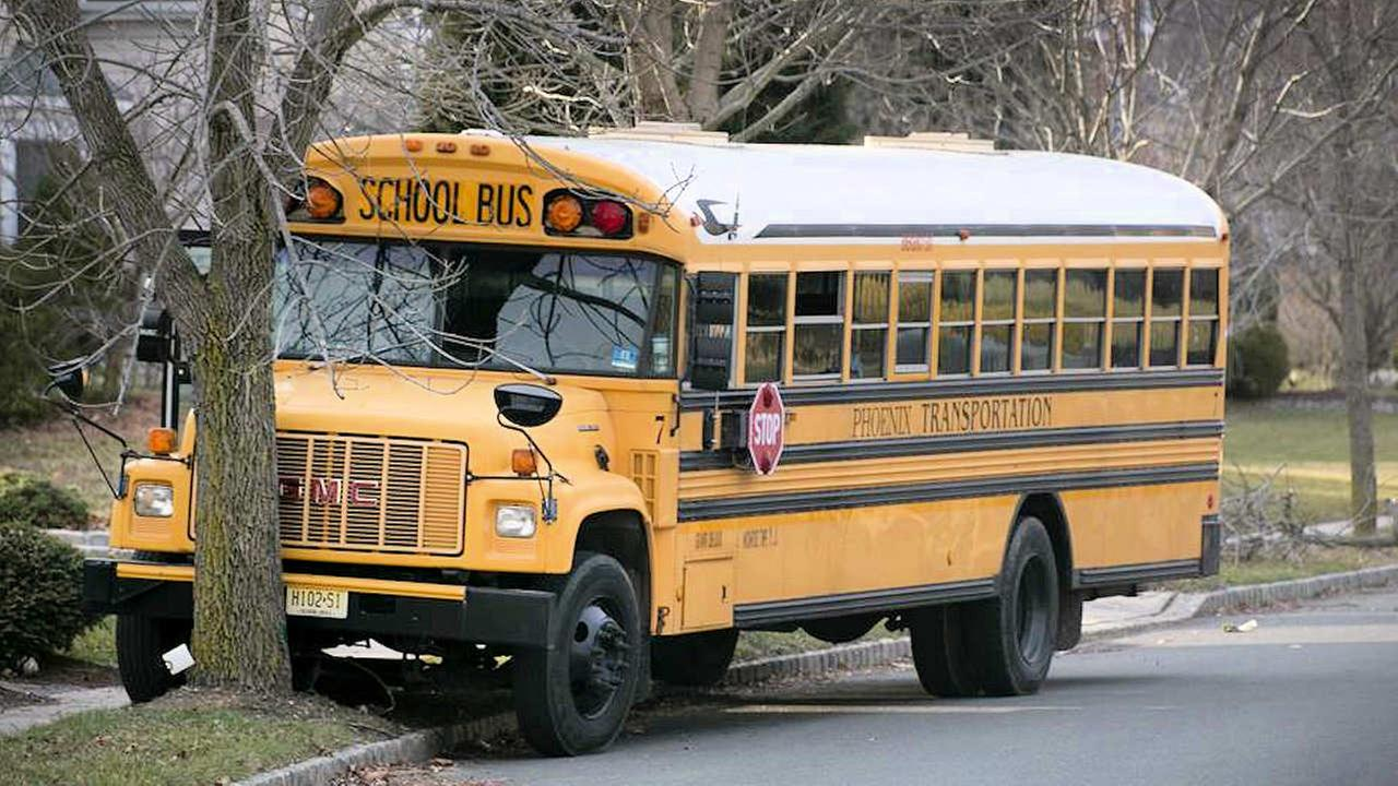 New Jersey school bus driver dies after medical emergency, crash