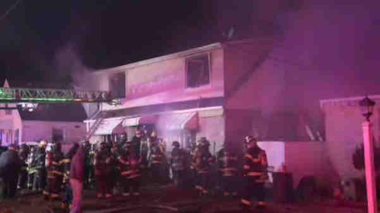 A 70-year-old man on Long Island was killed in a house fire overnight.