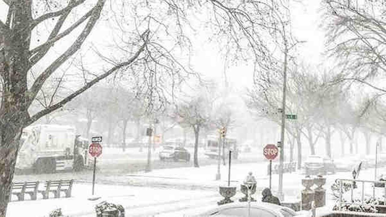 Photos and videos of Thursdays winter snowstorm submitted by Eyewitness News viewers.