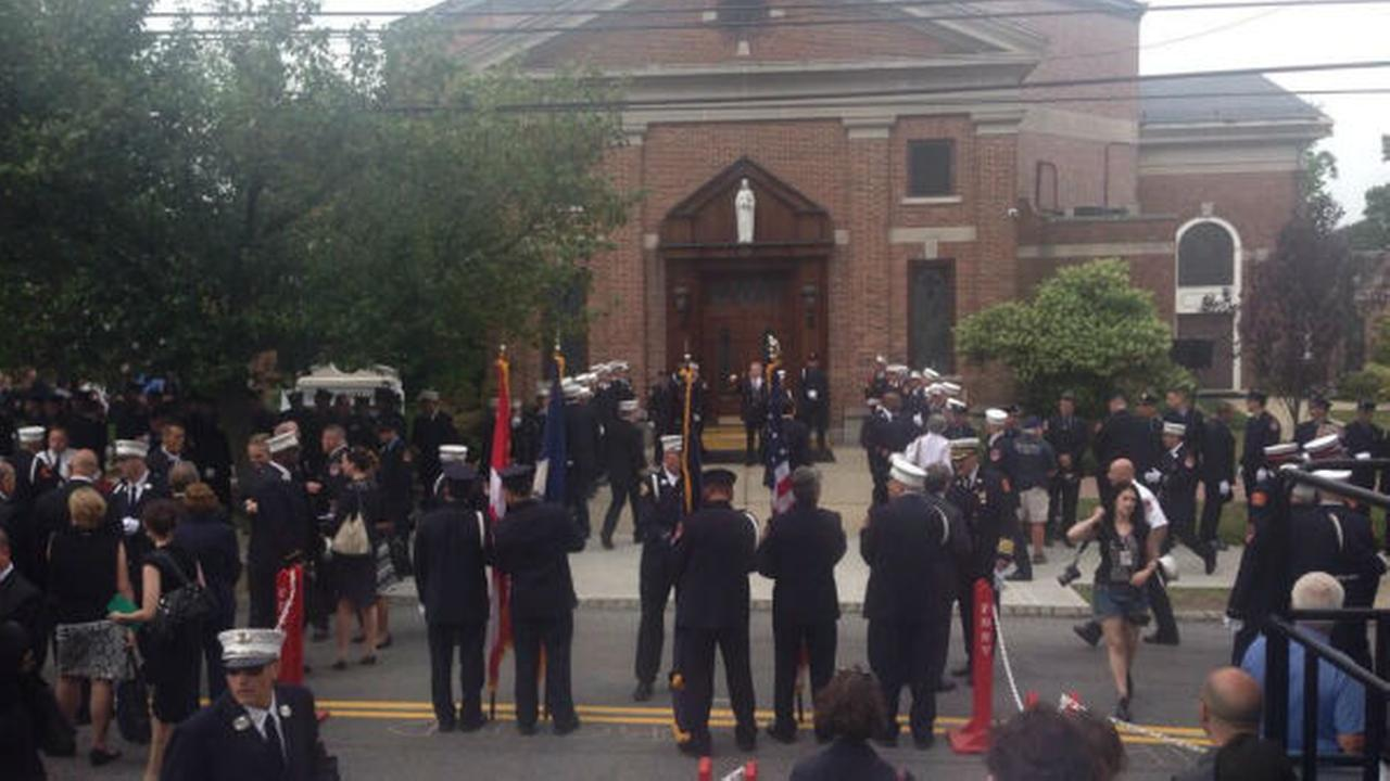 Funeral for FDNY Lt. Gordon Matt Ambelas