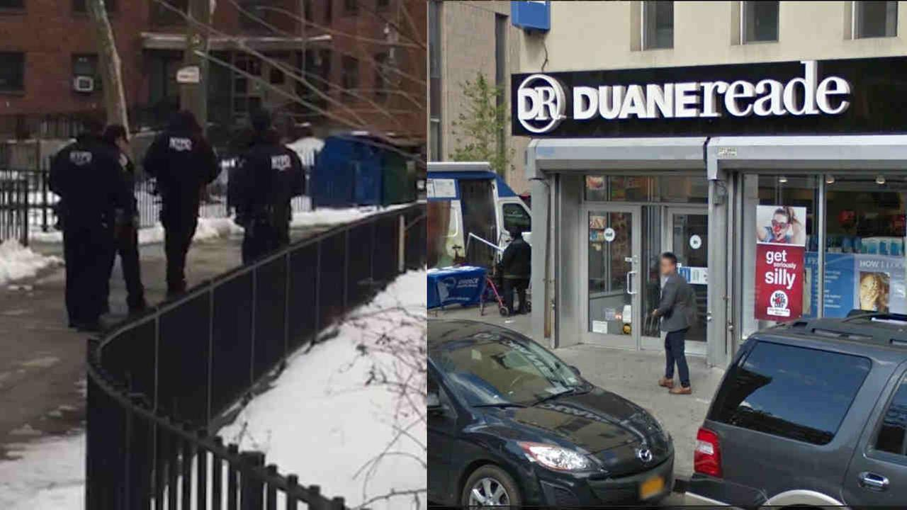 The NYPD is looking for a man who escaped after he was taken into custody at this Duane Reade on Madison Avenue on the Upper East Side.