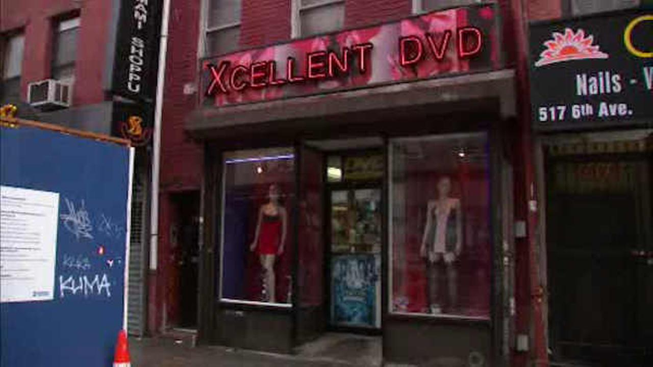 Police investigate stabbing at adult video store in Greenwich Village