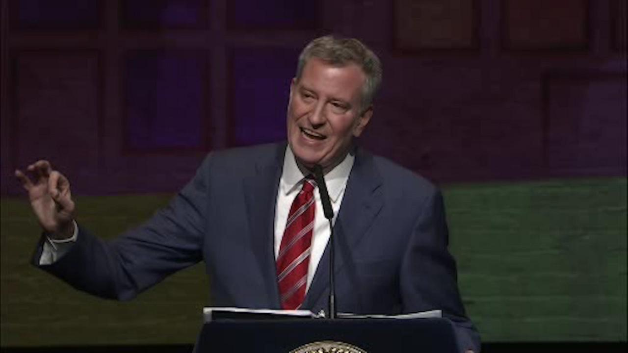 Mayor de Blasio touts plans to make NYC more affordable in 'State of the City'