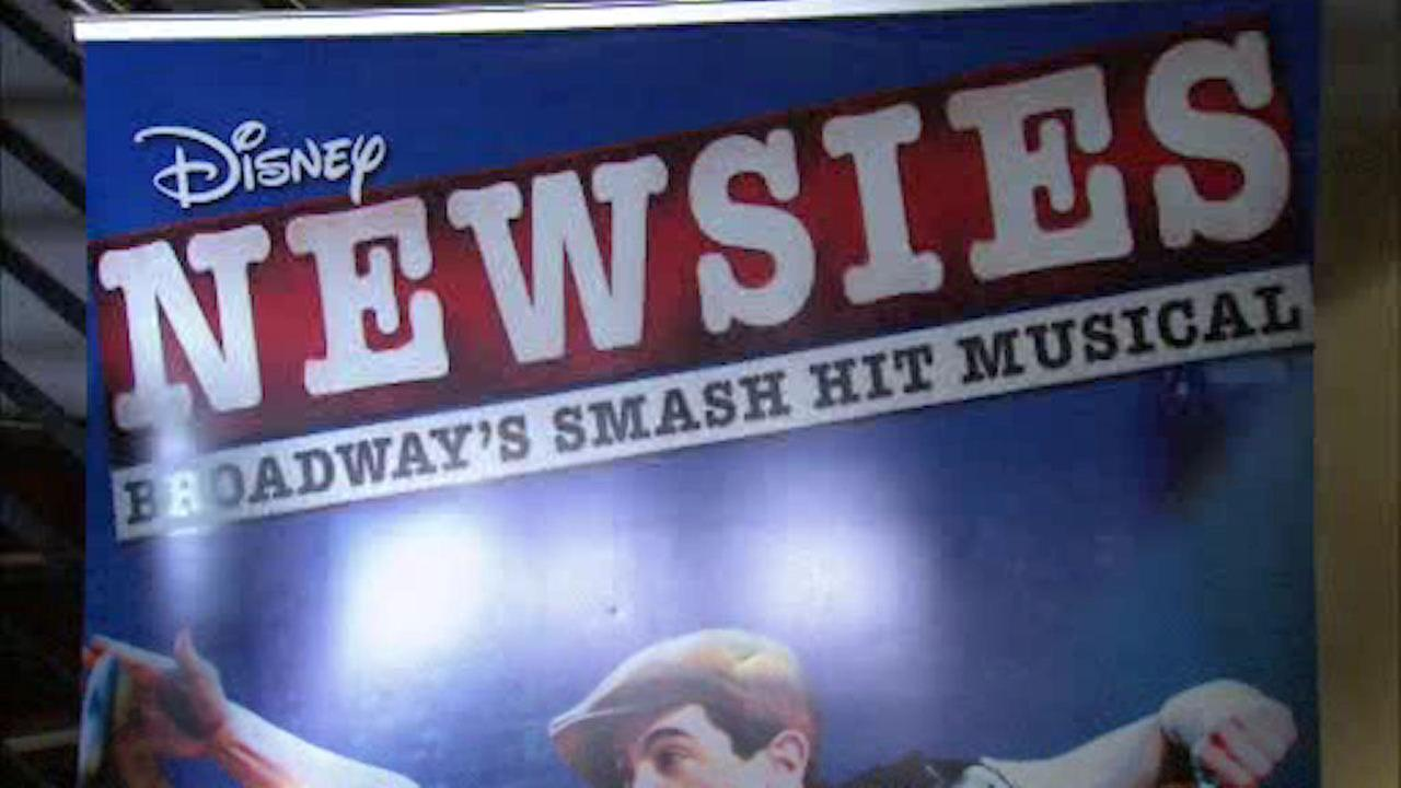 Broadway 'Newsies' coming to the big screen