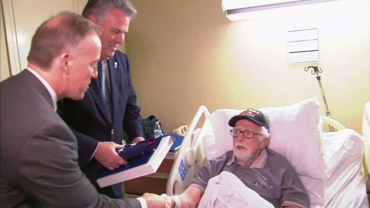 92-year-old war hero honored for helping to crack Nazi's Enigma code