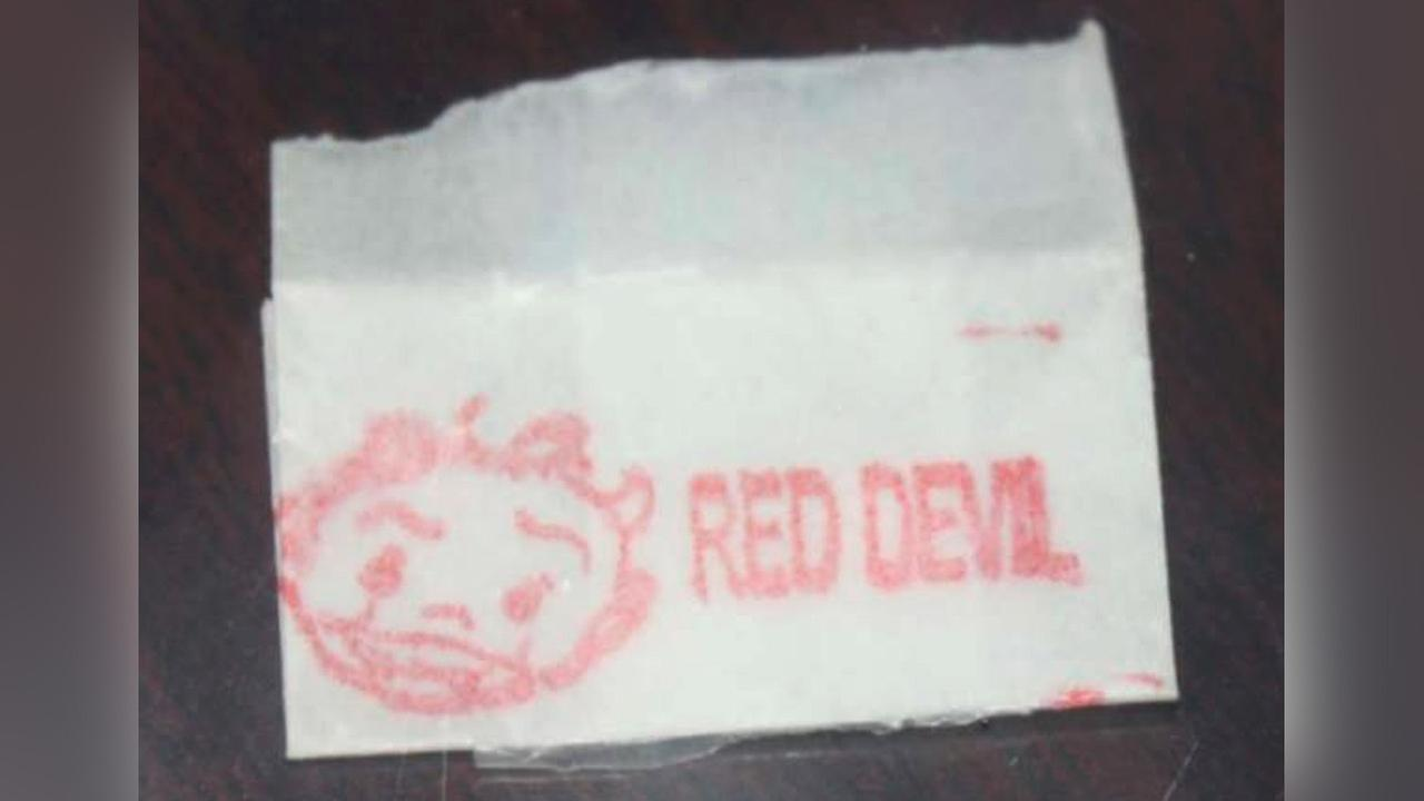 Warning issued about potentially deadly batch of heroin called 'RED DEVIL'