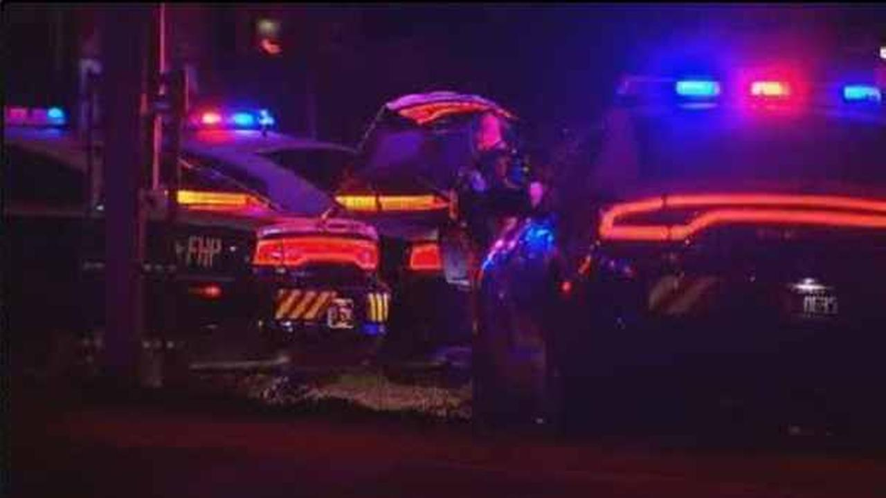 Police told reporters the two officers responded early Saturday to a reported disturbance at a home in the Orlando suburb.