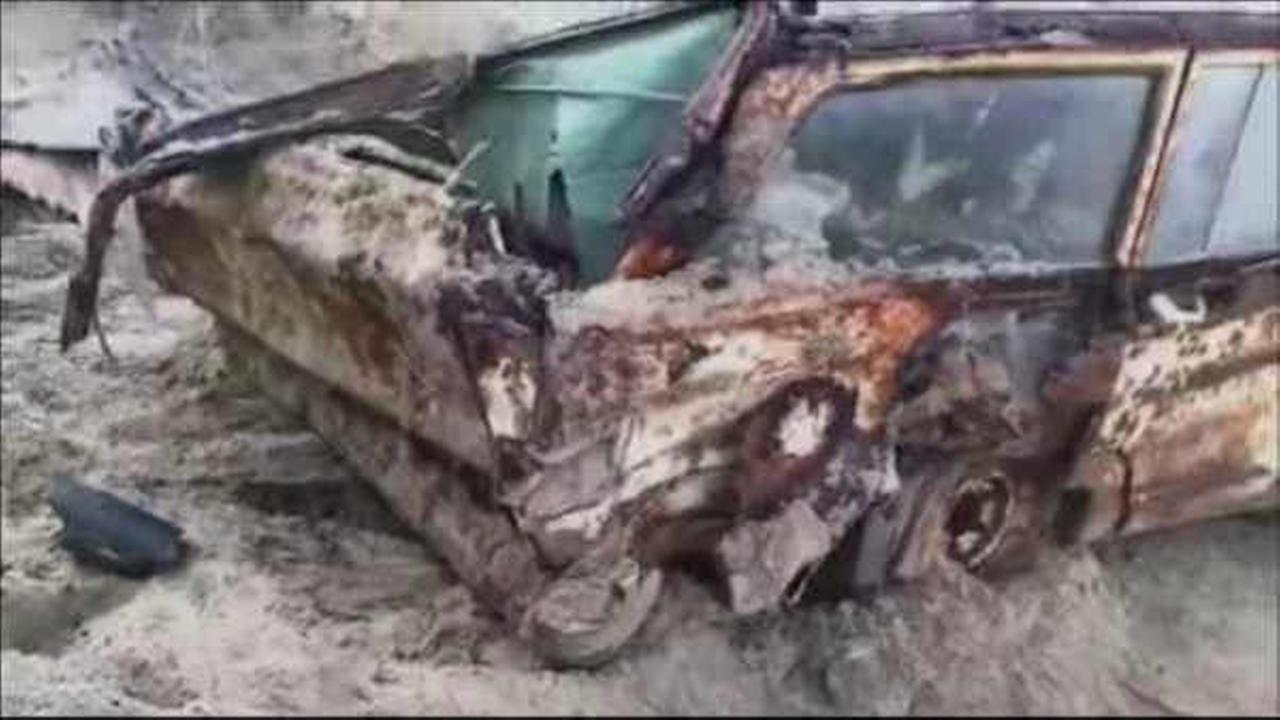 Jeep buried in sand dune for 40 years in Cape Cod is finally unearthed