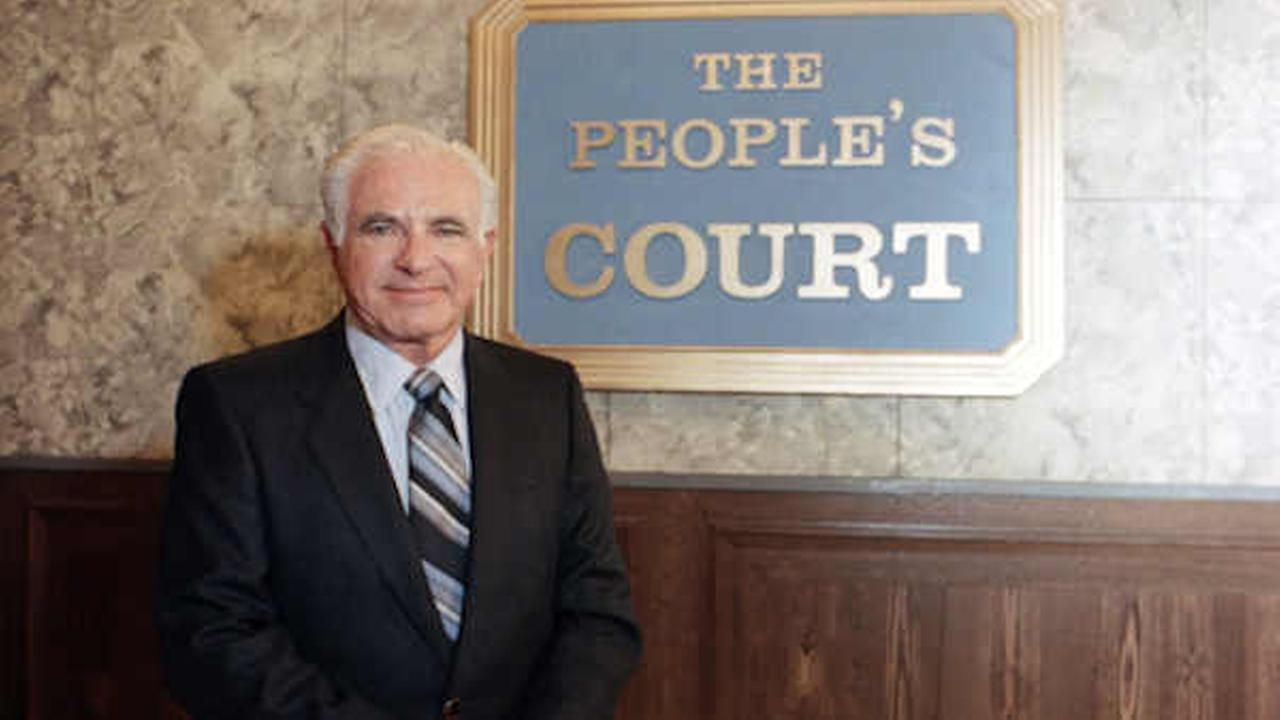 Joseph Wapner, star of television show Peoples Court on Oct. 22, 1986. (AP Photo/Galbraith)