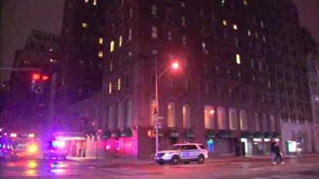 Five were hurt in a basement fire at a Midtown hotel