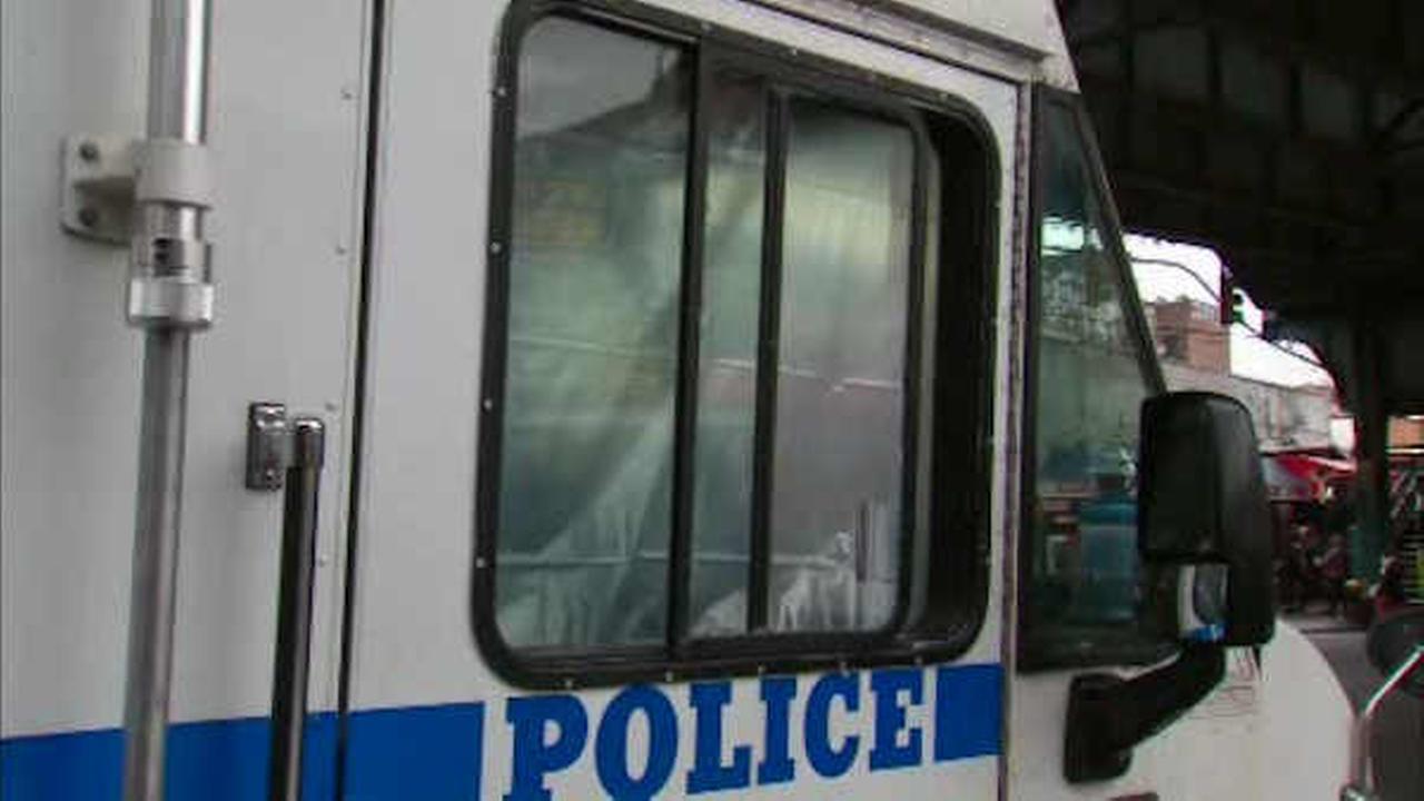 NYPD van hit by shots from BB gun in Corona, Queens