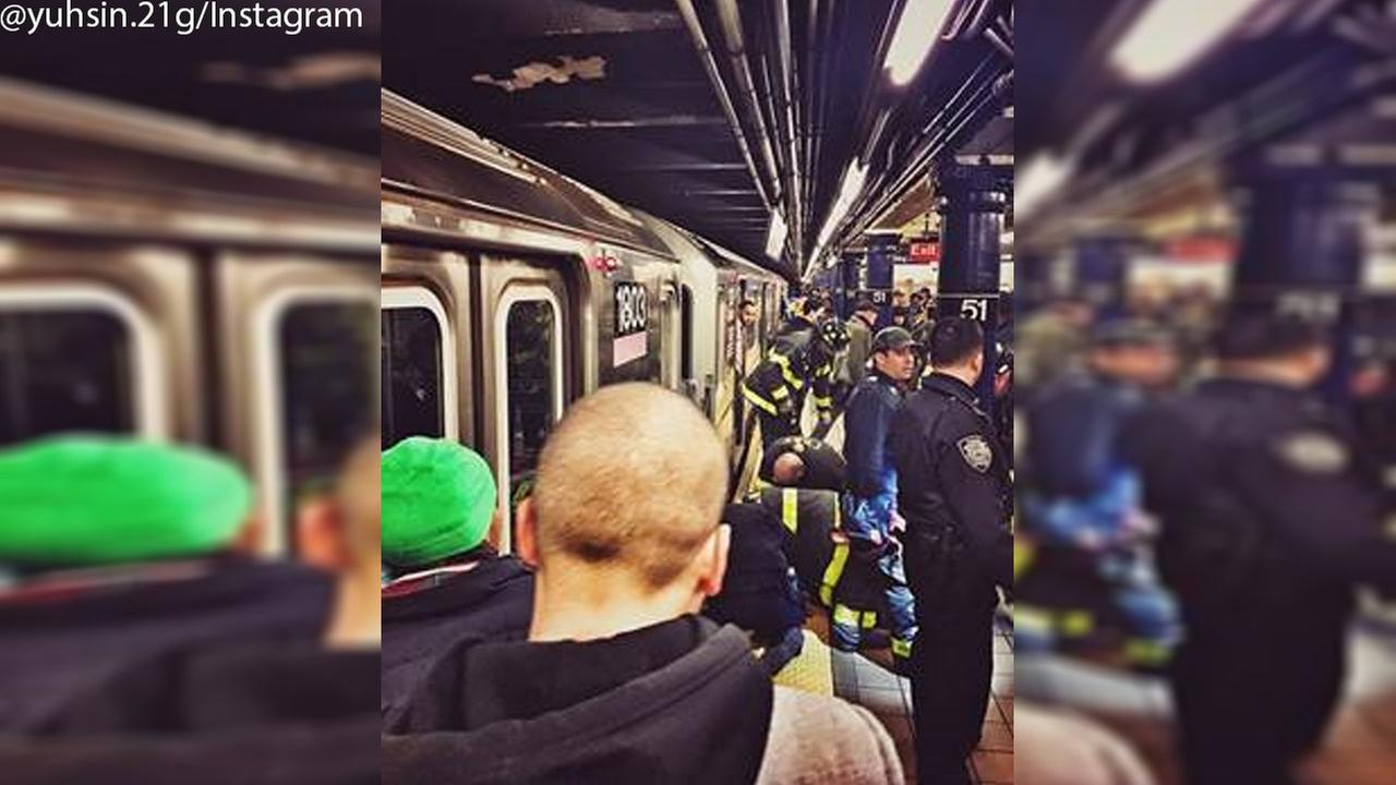 Woman hit by train in Midtown after fainting and falling onto tracks
