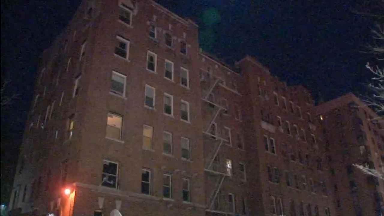 Maria Carolina Sanchez-Tiburcio, 43, of the Bronx, fell out of an apartment window.