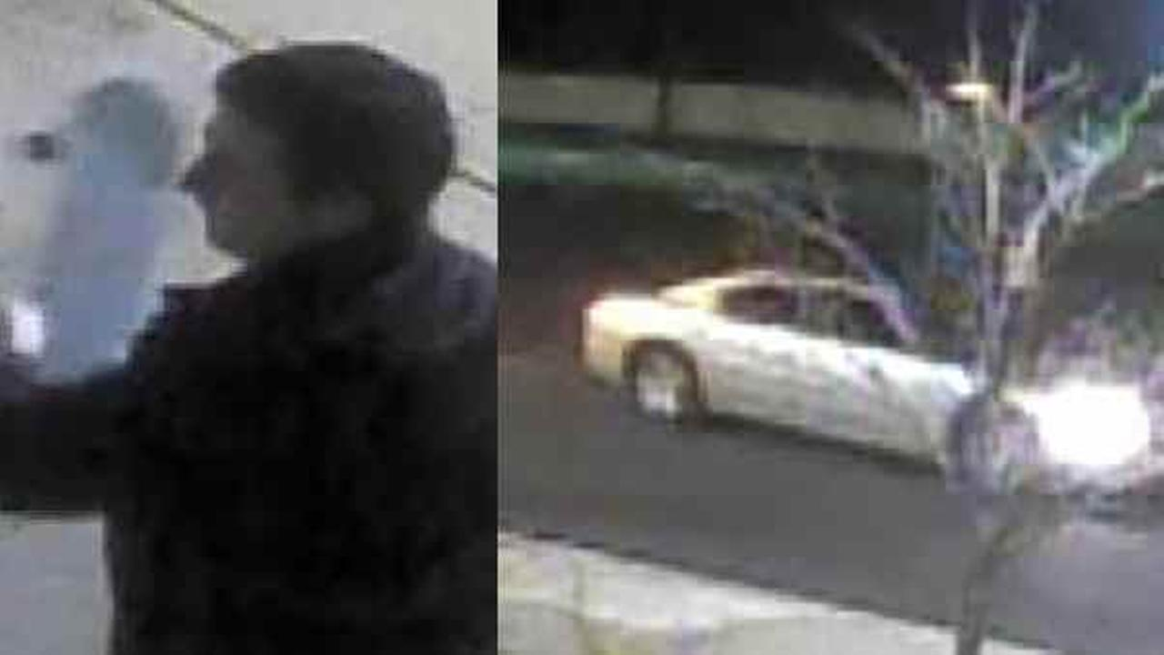 Police say this man vandalized a church in Commack.